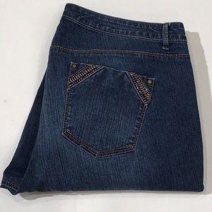 Gloria Vanderbilt Crop Jeans